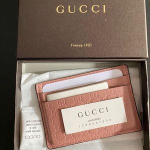 Gucci Women's GG Guccissima card holder